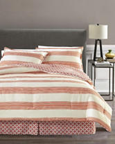 Great Hotels Collection Newport 4-pc. Reversible Stripe Comforter Set