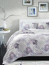 Great Hotels Collection Celine Floral Quilt Set