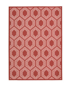 Waverly Sun n' Shade Poppy Bubbly Indoor/ Outdoor Rug