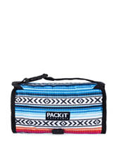Packit® Fiesta Check Print Freezable Lunch Tote