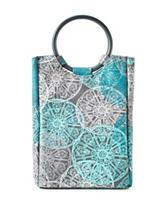 Fit & Fresh Retro Aqua Jellyfish Lunch Bag