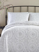 Jessica Simpson Medallion Print Coverlet