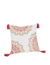 Jessica Simpson Sabine Medallion Print Decorative Pillow