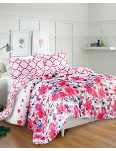 Great Hotels Collection 3-Pc. Floral Paradise Reversible Comforter Set