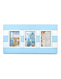 Concepts in Time Blue/ Cream Frames & Shadow Boxes Home Accents