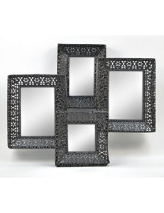 Concepts in Time Black Mirrors Wall Decor