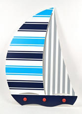 Concepts In Time Sailboat Wall Art
