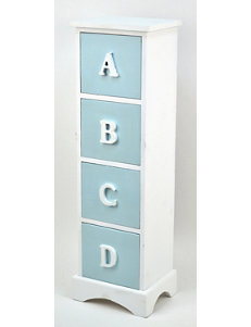 Concepts in Time Blue Carts & Drawers Storage Shelves Storage & Organization