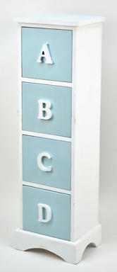 Concepts In Time 4-Drawer Standing Cabinet