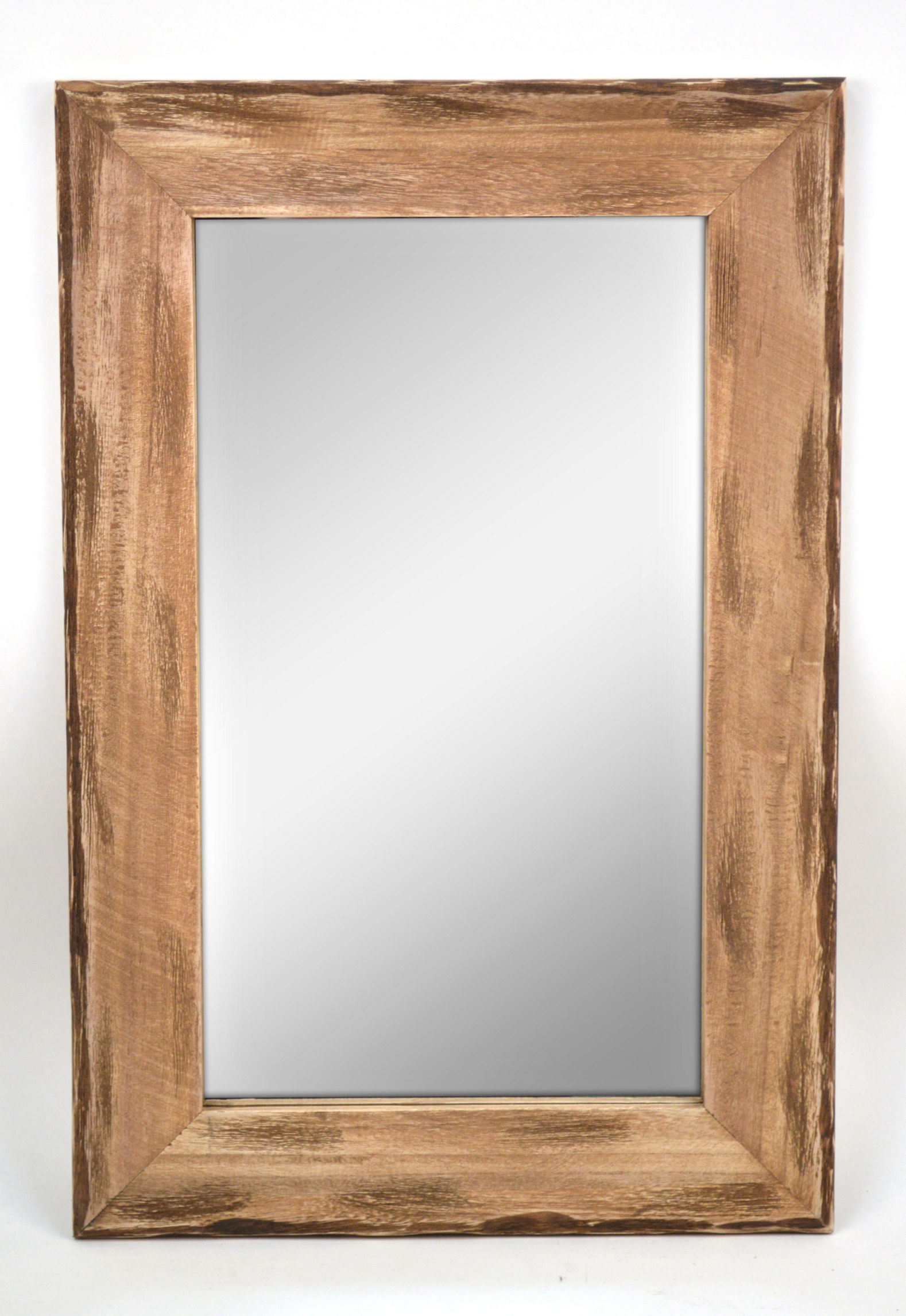 Concepts in Time Wood Mirrors Wall Decor