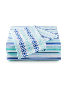 Great Hotels Collection Multicolor Striped Print Sheets