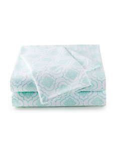 Great Hotels Collection Aqua Frette Print Sheets