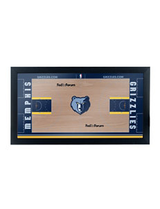 Memphis Grizzlies Official Court Framed Plaque
