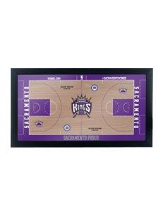 Sacramento Kings Official Court Framed Plaque