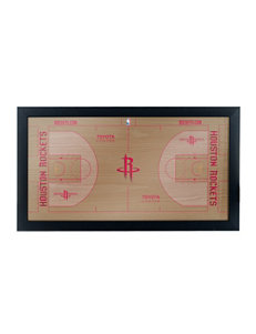 Houston Rockets Official Court Framed Plaque