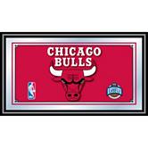 Chicago Bulls Framed Logo Mirror