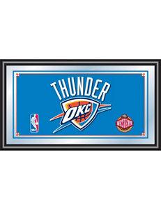 NBA Oklahoma City Thunder Framed Logo Mirror