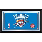 NBA® Oklahoma City Thunder Framed Logo Mirror