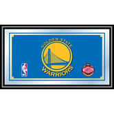 Golden State Warriors Framed Logo Mirror