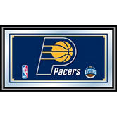Indiana Pacers Framed Logo Mirror