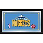 Denver Nuggets Framed Logo Mirror