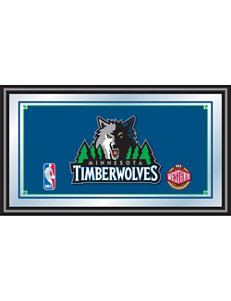 Minnesota TImberwolves Framed Logo Mirror