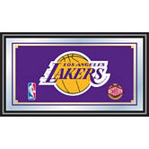 Los Angeles Lakers Framed Logo Mirror