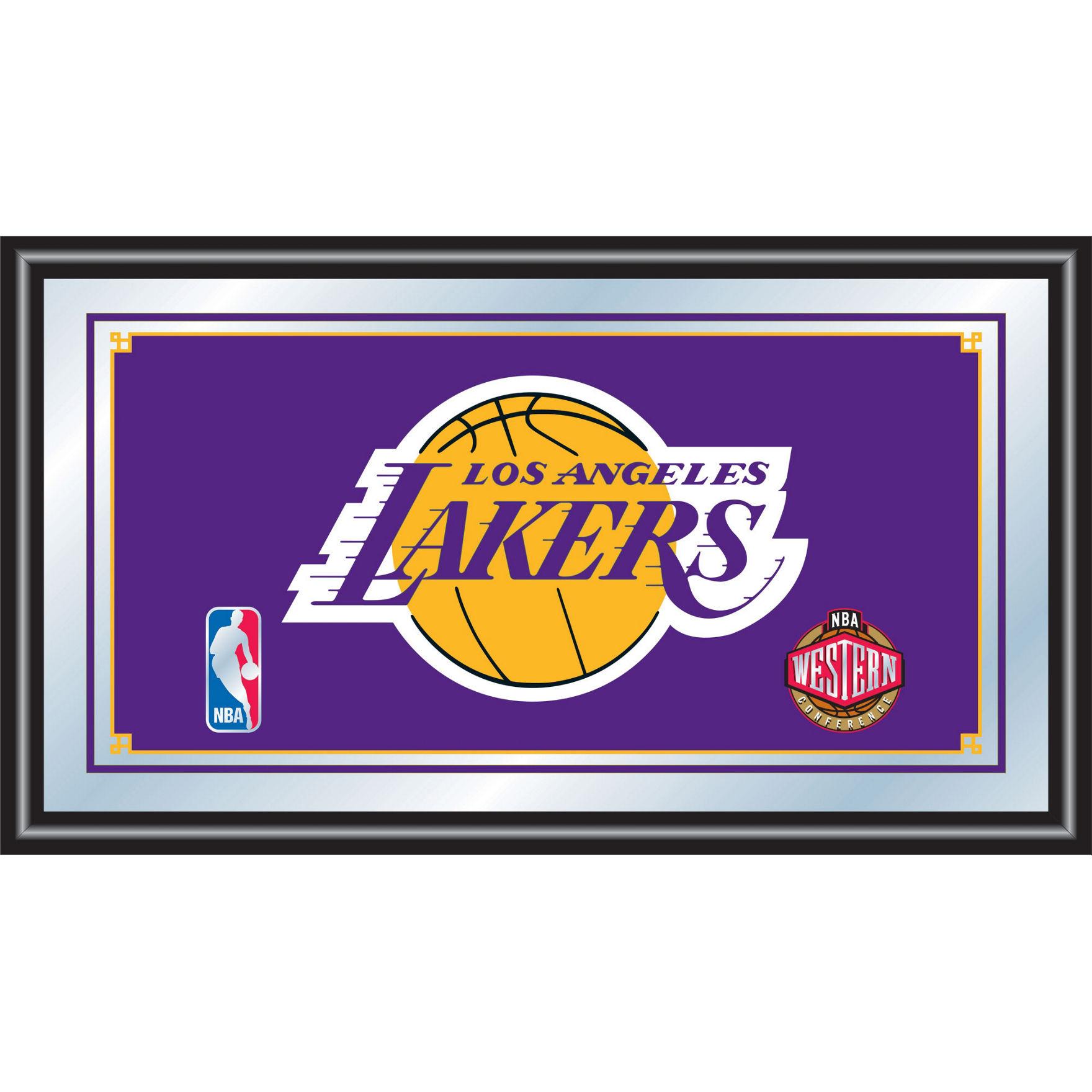 Trademark Global Multi Mirrors Wall Art NBA Wall Decor