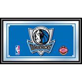 Dallas Mavericks Framed Logo Mirror