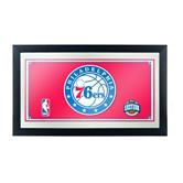 Philadelphia 76ers Framed Logo Mirror