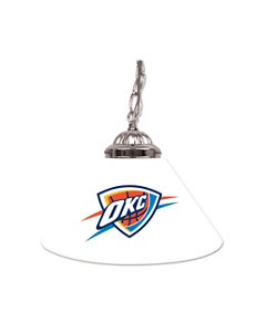Oklahoma City Thunder Single Shade Lamp