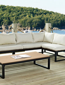Walker Edison Natural Patio & Outdoor Furniture