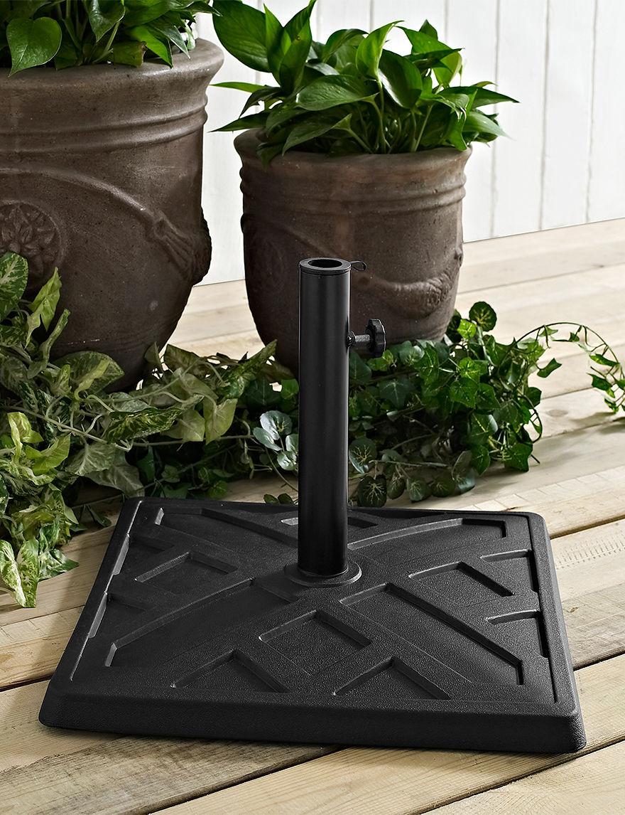 Walker Edison Black Patio & Outdoor Furniture