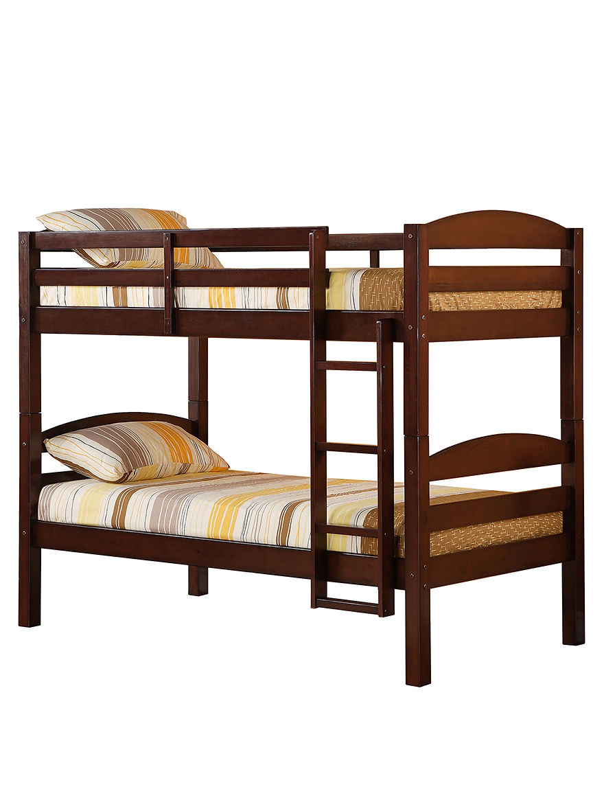 Walker Edison Espresso Beds & Headboards Bedroom Furniture