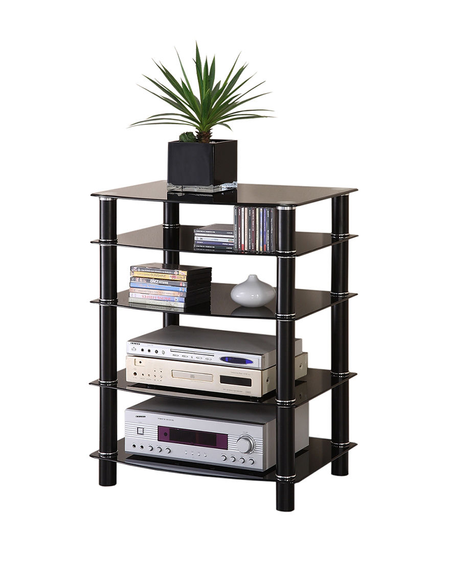 Walker Edison Black TV Stands & Entertainment Centers Living Room Furniture