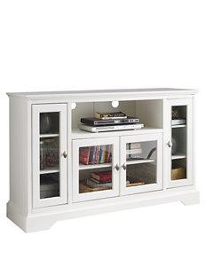 Walker Edison White TV Stands & Entertainment Centers Living Room Furniture
