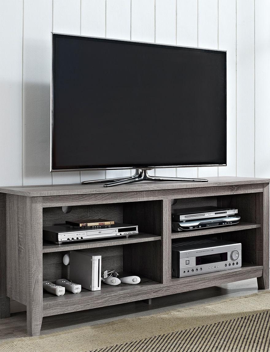 Walker Edison Driftwood TV Stands & Entertainment Centers Living Room Furniture