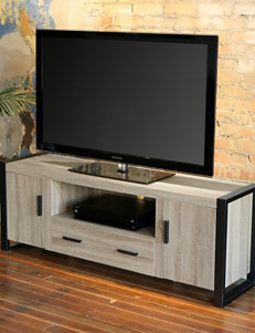 Walker Edison Ash Grey TV Stands & Entertainment Centers Living Room Furniture