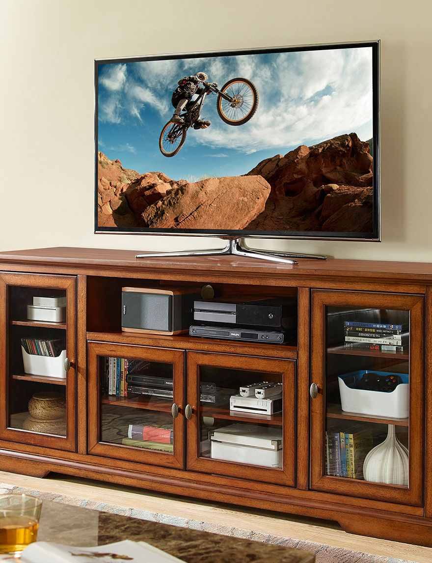 Walker Edison Rustic TV Stands & Entertainment Centers Living Room Furniture