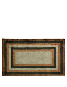 Bacova Guild Cashlon Copper Concentric Rug