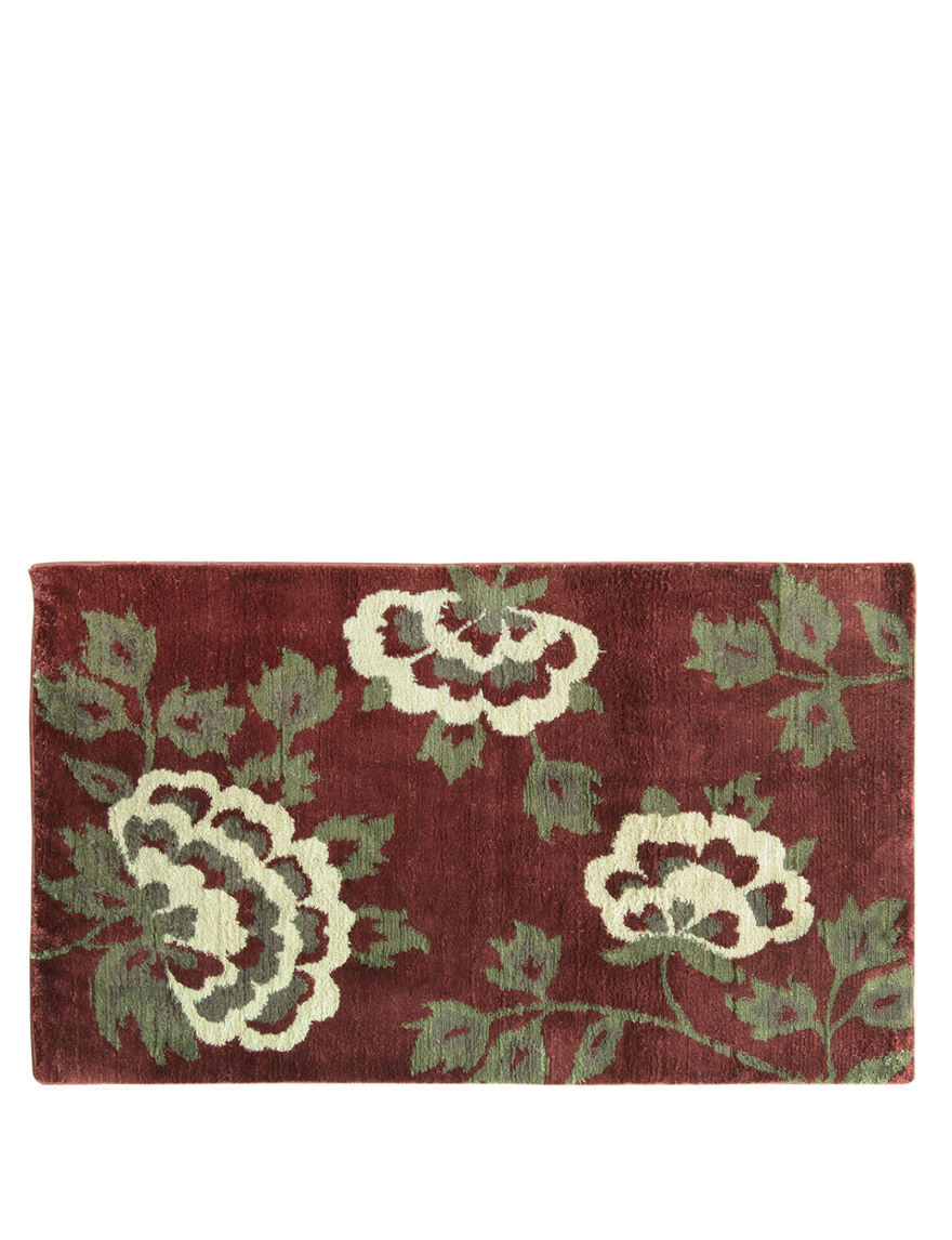 Bacova Guild Cashlon Red Brianna Rug Stage Stores