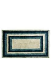 Bacova Guild Cashlon Blue Concentric Rug