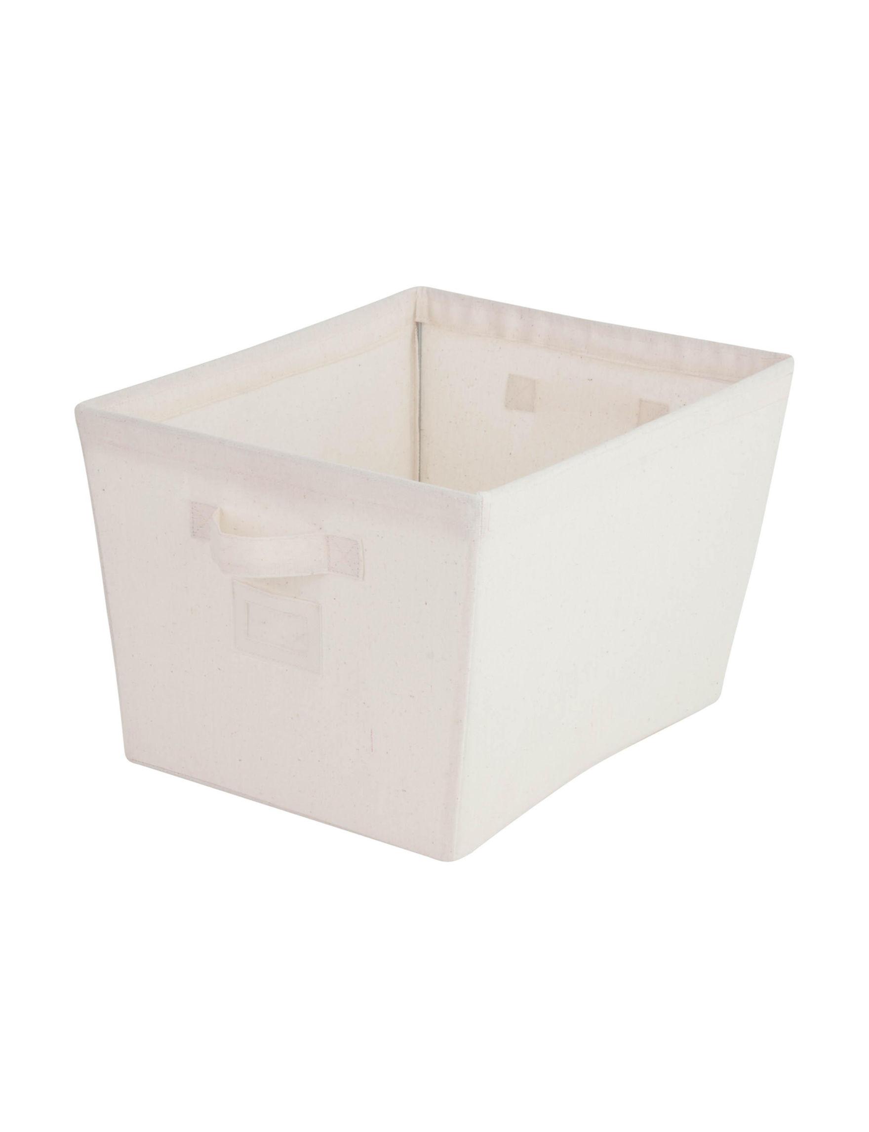 Honey-Can-Do International Natural Storage Bags & Boxes Storage & Organization