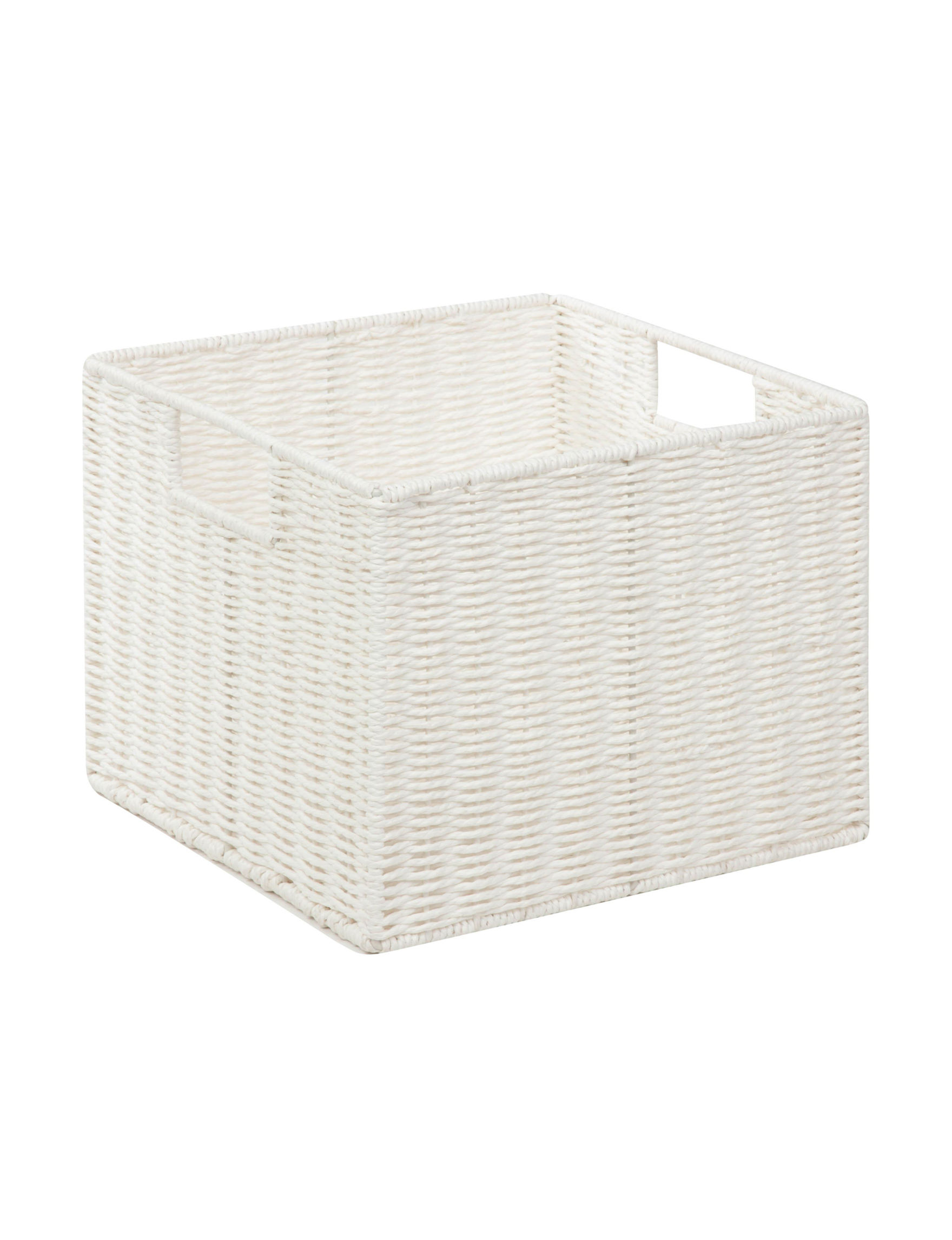 Honey-Can-Do International White Storage & Organization