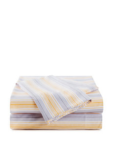 Great Hotels Collection Yellow & Grey Striped Sheets