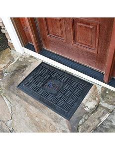 Fanmats Black Outdoor Rugs & Doormats MLB Outdoor Decor Rugs