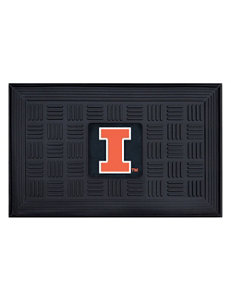 University of Illinois Medallion Door Mat