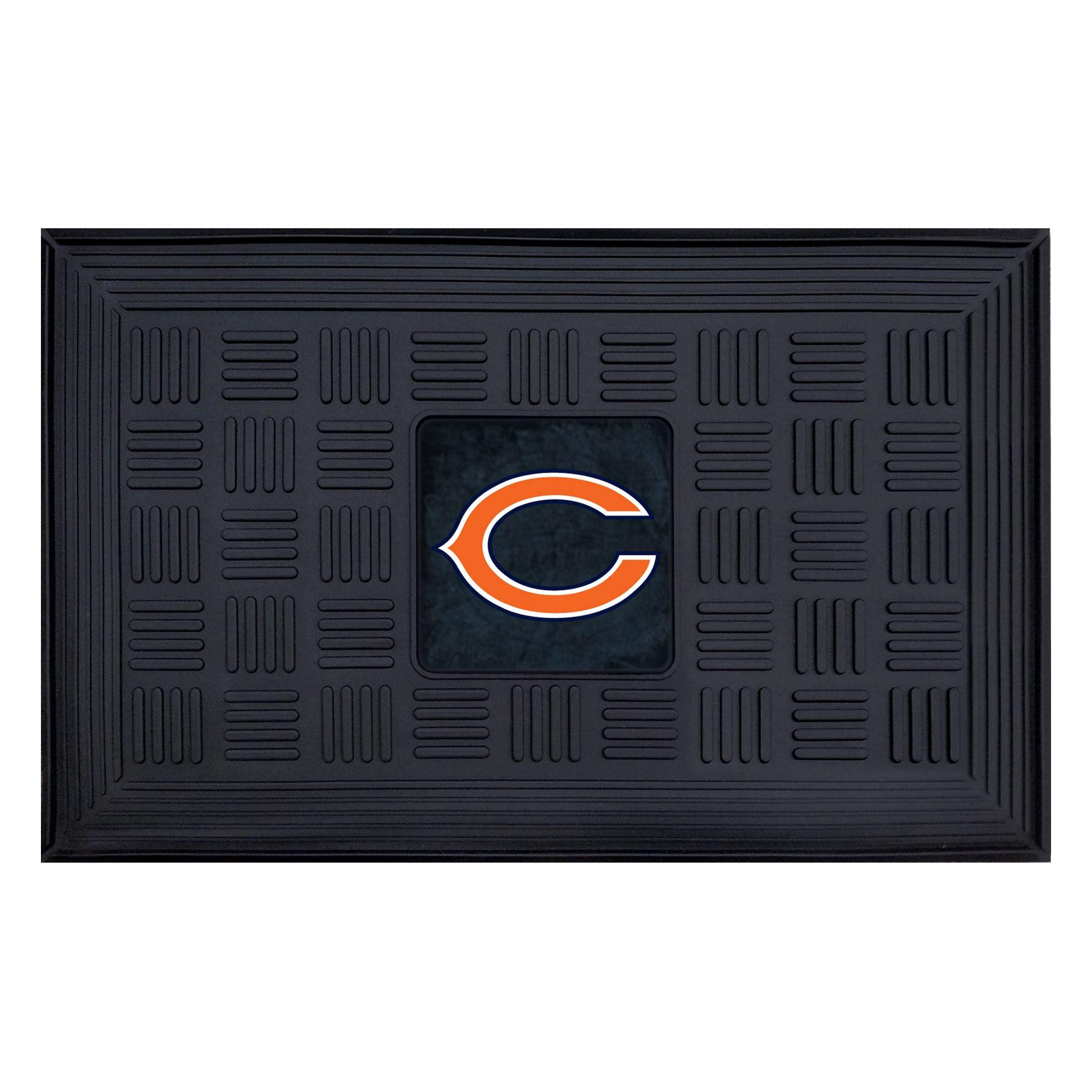 Fanmats Black Outdoor Rugs & Doormats NFL Outdoor Decor Rugs