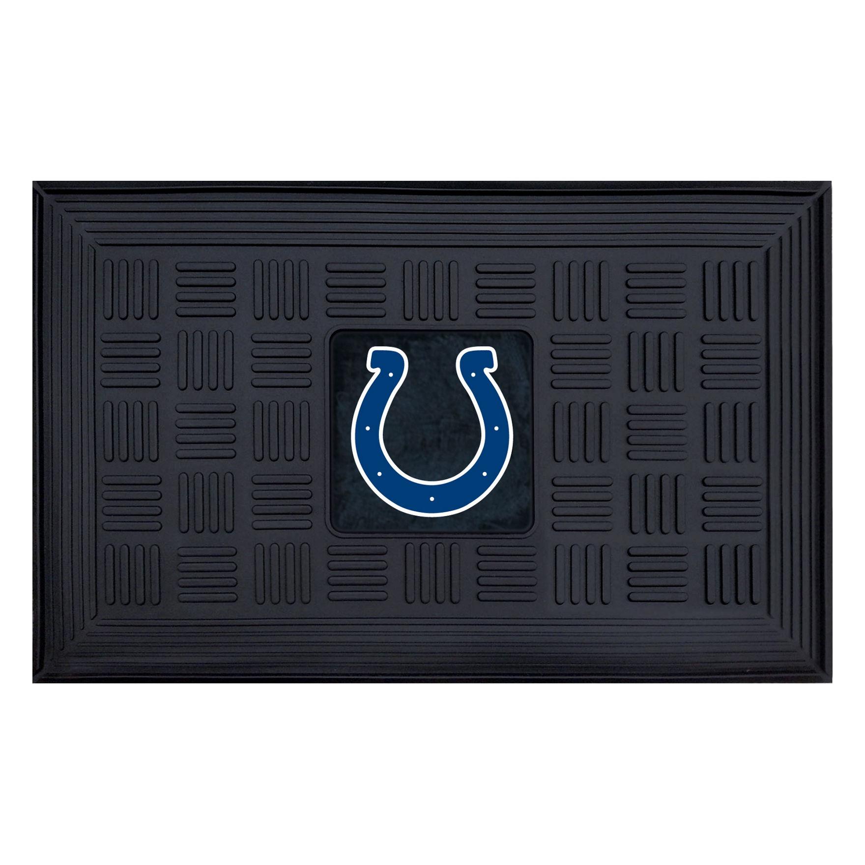 Fanmats Black Outdoor Rugs & Doormats NFL Outdoor Decor