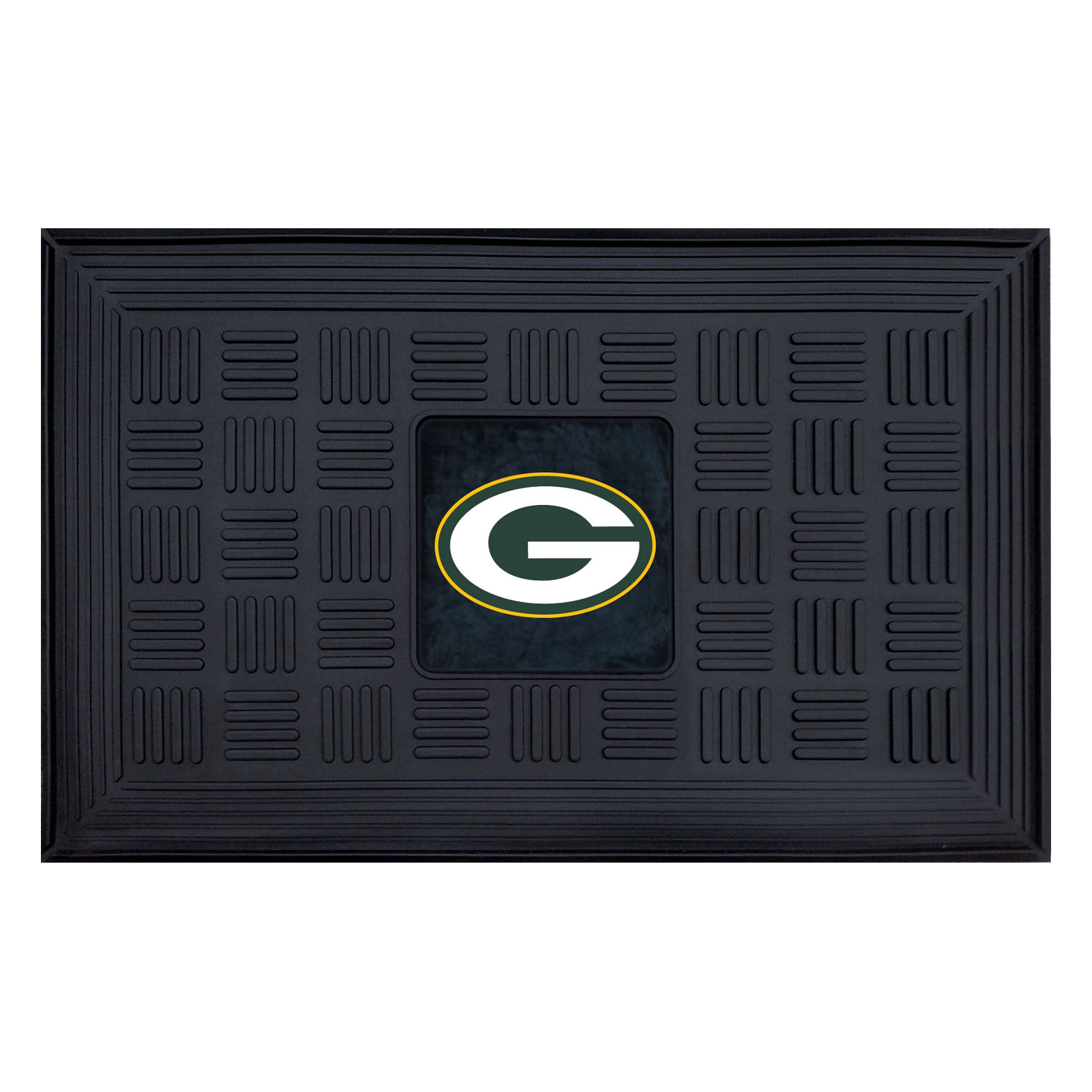 Fanmats Black Outdoor Rugs & Doormats NFL Outdoor Decor